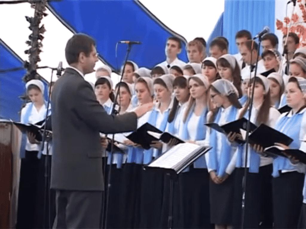 Международная конференция (Воронеж 2013): хор «Иисус воскрес»
